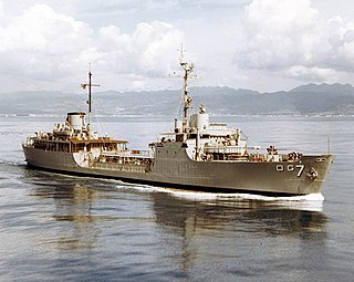 USS <i>Elkhorn</i> (AOG-7) Patapsco-class gasoline tanker