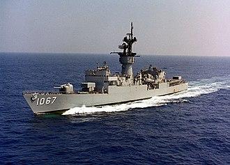 USS Francis Hammond - Image: USS Francis Hammond (FF 1067)