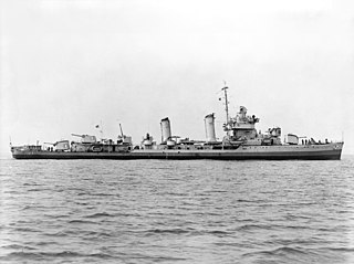 <i>Gleaves</i>-class destroyer class of 66 destroyers of the United States Navy