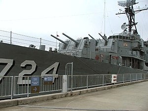 USS Laffey (DD-724) - Laffey in 2007