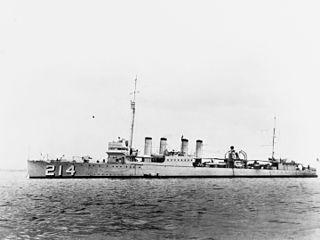 USS <i>Tracy</i> (DD-214)