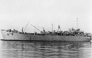 USS Ulysses (ARB-9) - Image: USS Ulysses (ARB 9)