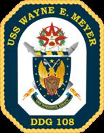 USS Wayne E. Meyer COA