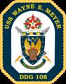 USS Wayne E. Meyer COA.png