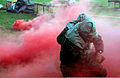 US Air Force (USAF) Airmen assigned to the 11th Wing (WG) participate in chemical warfare training in preparation for the upcoming Aerospace Expeditionary Force 9 (AEF-9) deployment, as part of Exercise 021017-F-UB894-043.jpg