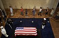 US Navy 040607-N-6811L-122 Mourners pay their respects to former President Ronald Reagan as his casket lays in repose at the Ronald Reagan Presidential Library in Simi Valley, Calif.jpg