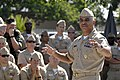US Navy 080616-N-9818V-332 Master Chief Petty Officer of the Navy (MCPON) Joe R. Campa Jr. speaks to Chief Petty Officers assigned to Naval Special Warfare Command during a chief petty officers call at Naval Amphibious Base Cor.jpg