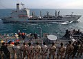 US Navy 081111-N-3392P-053 Iraqi Sailors and Marines observe a replenishment at sea.jpg