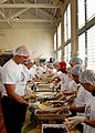 US Navy 081127-N-5476H-028 Sailors serve a Thanksgiving meal during the 19th annual Operation Aloha.jpg