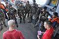 US Navy 090819-N-4220R-658 Members of a U.S. Coast Guard Maritime Safety and Security Team brief Philippine Navy Special Forces Sailors aboard Military Sealift Command rescue and salvage ship USNS Safeguard (T-ARS 50).jpg