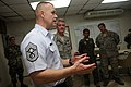 US Navy 090919-N-4936C-152 hief Master Sgt. of the Air Force James A. Roy speaks to Airmen assigned to the 612th Air Expeditionary Communications Squadron and members of the Panamanian Air Service deployed to Capitan Juan Delga.jpg