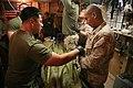 US Navy 100115-M-2293M-025 Hospital corpsmen treat an Afghan man for a gunshot wound.jpg