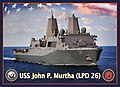 US Navy 100423-N-5025C-001 An artist concept of the amphibious tranport dock ship USS John P. Murtha (LPD 26).jpg