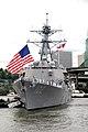 US Navy 100603-N-2143T-005 Sailors man the rails aboard USS Sampson (DDG 102).jpg