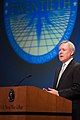 US Navy 111020-N-IF177-002 Secretary of the Navy (SECNAV) the Honorable Ray Mabus delivers remarks during the 20th International Seapower Symposium.jpg
