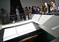 US Navy 111207-N-AC887-004 Secretary of the Navy (SECNAV) the Honorable Ray Mabus and his wife, Lynne Mabus, pay their respects at the USS Arizona.jpg