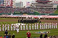 US Navy Ceremonial Band performs the national anthem 110331-N-HG258-049.jpg