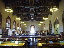 Interior Of The Architecture U0026 Planning Library In Battle Hall. The  University Of Texas ...