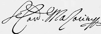 Cardinal Mazarin - Image: Undated signature of Cardinal Mazarin