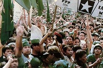 United Development Party - United Development Party rally in Jakarta, 24 April 1997
