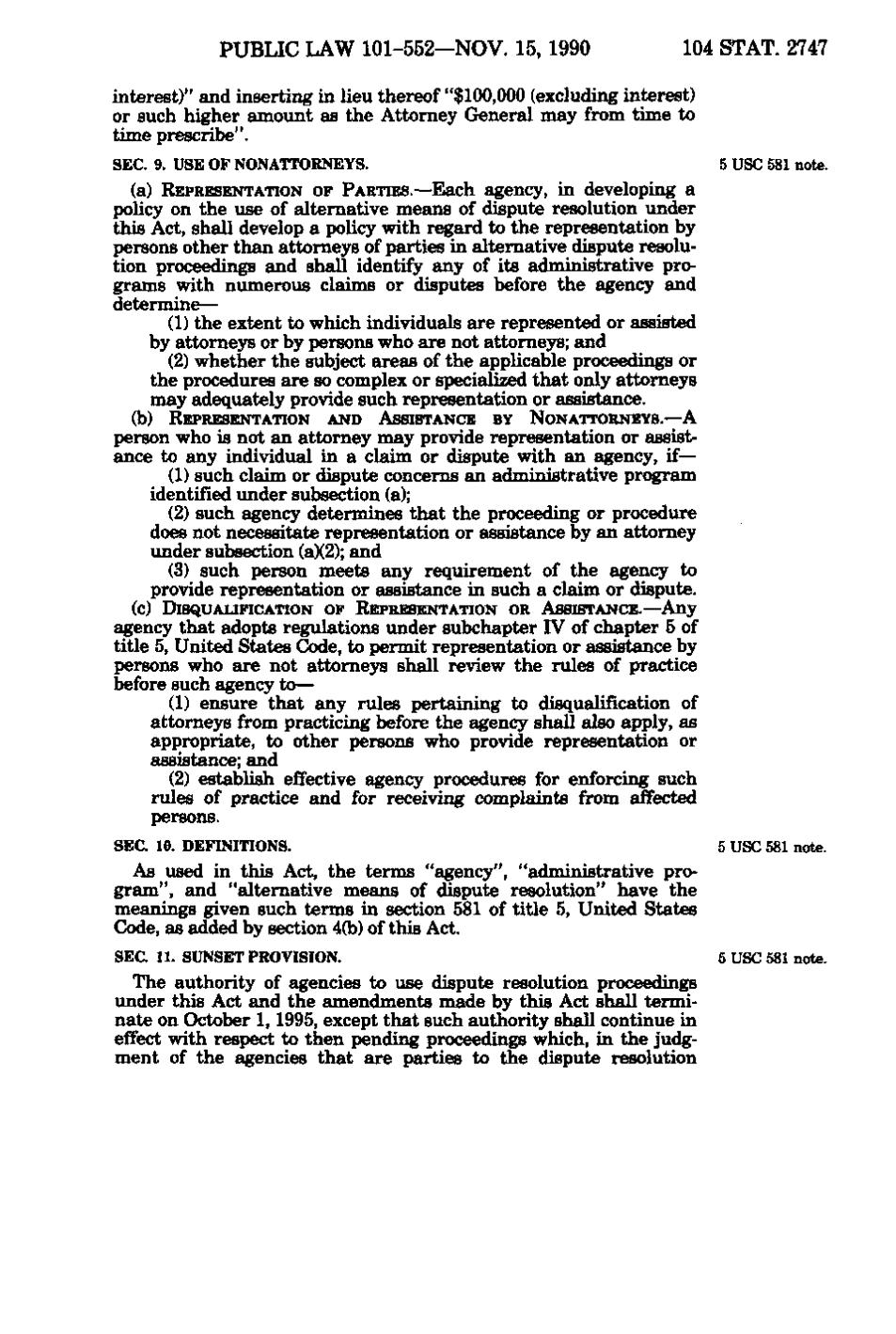 Page:United States Statutes at Large Volume 104 Part 4.djvu\/431 - Wikisource, the free online ...
