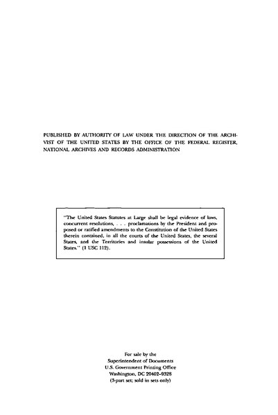 File:United States Statutes at Large Volume 111 Part 1.djvu