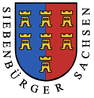 Transylvanian Saxons - Coat of arms of the Transylvanian Saxon University in the Middle Ages