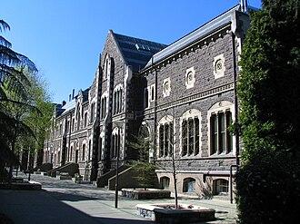 University of Otago Clocktower complex - Geology Block building