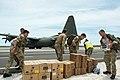 Unloading aid supplies-Turks and Caicos Islands (36372144643).jpg