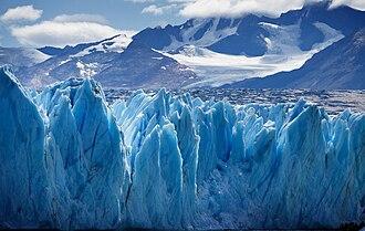 Geography of Argentina - Image: Upsala Glacier 3