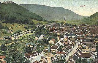 Bad Urach - Image: Urach 1912