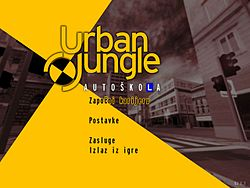 Urban Jungle (video game) - Main menu (izbornik).jpg