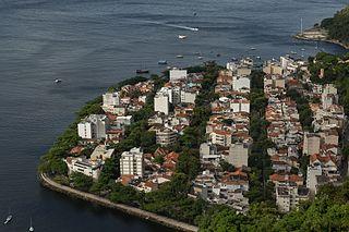Urca Neighborhood in Rio de Janeiro, Rio de Janeiro, Brazil