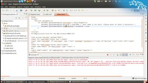 File:Using server side application logic and client side ajax requests to support Users filling out a web form.webm