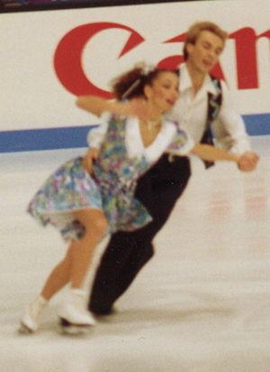 Alexander Zhulin - Usova/Zhulin in 1994