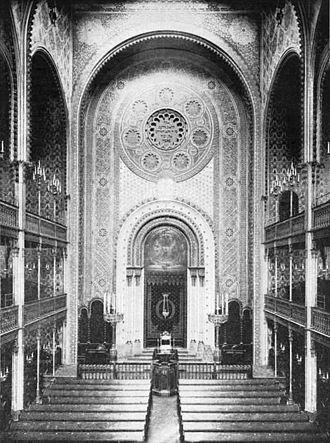 Ludwig Förster - Leopoldstädter Tempel