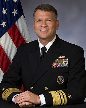 David J. Dorsett - Vice Admiral Dorsett, USN 1st DCNO for Information Dominance /  63rd Director of Naval Intelligence
