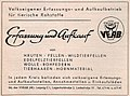VEAB - Volkseigener Erfassungs- und Aufkaufbetrieb für tierische Rohstoffe, Anzeige 1957.jpg