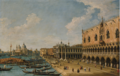 VENICE, THE MOLO LOOKING WEST WITH THE PALAZZO DUCALE AND SANTA MARIA DELLA SALUTE.PNG