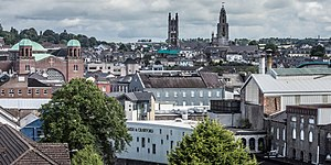 VIEWS OF THE CITY FROM THE WALLS OF ELIZABETH FORT (Cork).jpg