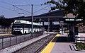 VTA train at Ohlone-Chynoweth station, August 1998.jpg