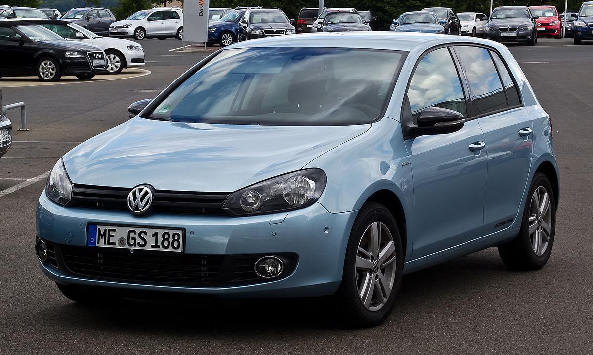 Volkswagen Golf Vi Wikipedia Wolna Encyklopedia