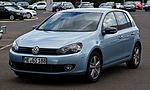VW Golf 1.4 TSI Match (VI) – Frontansicht, 25. August 2012, Velbert.jpg