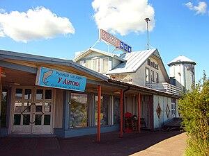 Vaalimaa - Shop and small hotel in Vaalimaa