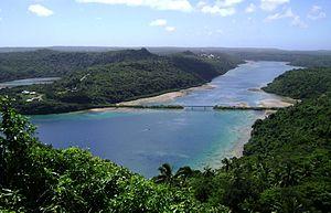 Vavaʻu - Image: Vaipūua bridge