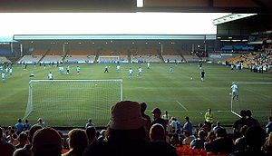 Vale Park, home of Port Vale F.C., July 2006