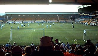 Port Vale F.C. - Vale Park, Port Vale's home ground since 1950.