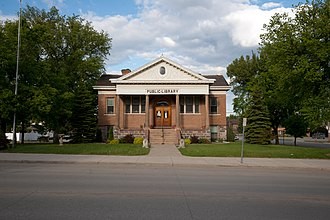 William C. Albrant - Valley City Public Library, Valley City, North Dakota. 1903.