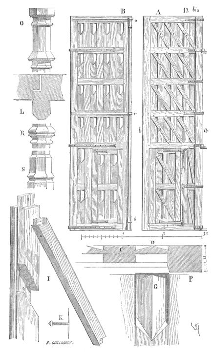 dictionnaire raisonn de l architecture fran aise du xie au xvie si cle menuiserie wikisource. Black Bedroom Furniture Sets. Home Design Ideas