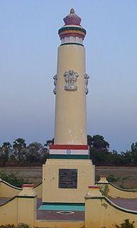 Vedaranyam Town in Tamil Nadu, India